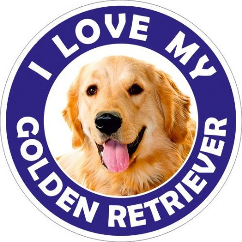 Golden Retriever sticker